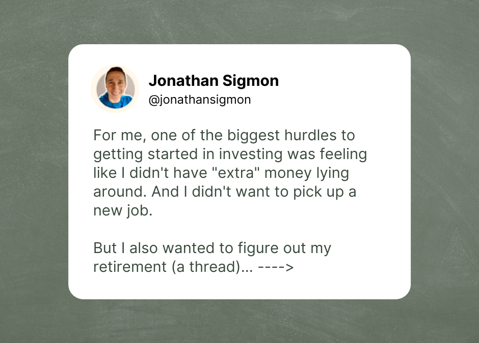 How To Invest (Without Working More)…